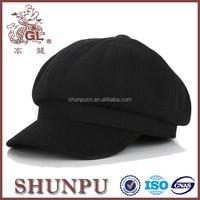 Custom black beret hat funny beret hats for children