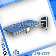 Foldable hospital recliner chair bed
