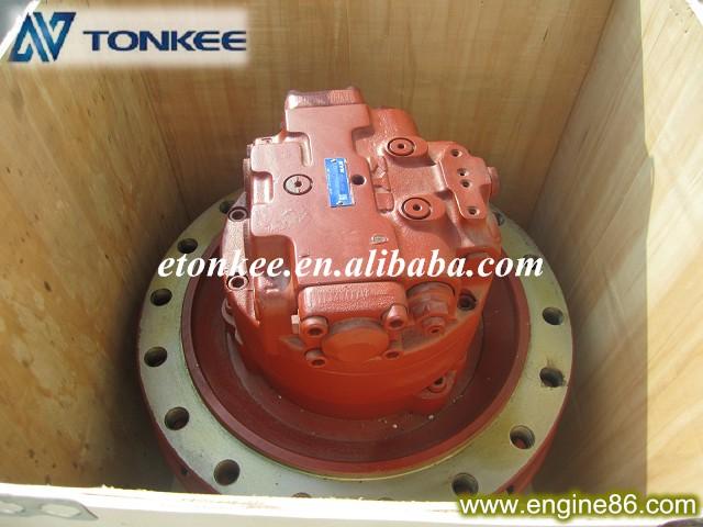 KYB MAG170VP-5000-7 for KATO HD1430-3 travel motor assy & travel motor reduction unit 619-01325010 (4)