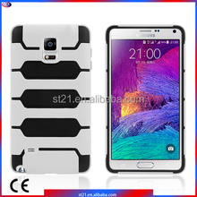 Silicon Case Smartphone Accessory Tanks Armor Hybrid Cover Cell Phone Case For Samsung Galaxy Note 4 N9100