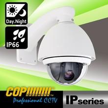 High Quality 10X 2M Onvif PTZ H.264 Outdoor 1080P Dome IP Camera