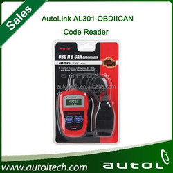 High Quality Autel AutoLink AL301 OBD II & CAN Code Reader Auto Link AL-301 Auto Diagnostic Scan Update Official Website