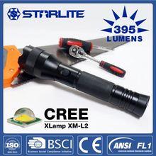 STARLITE High Power 2500mAh aluminum 7w 300lm mini led flashlight torch