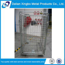 Cargo steel? foldable transport roll cage trolley
