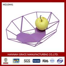 Wholesale Wrought iron Creative Fruit Bowl