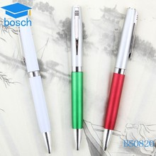 2015 Plastic pen plastic ball pen with logo hot plastic ballpoint pen
