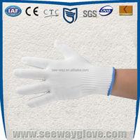 Seeway white cheap work gloves