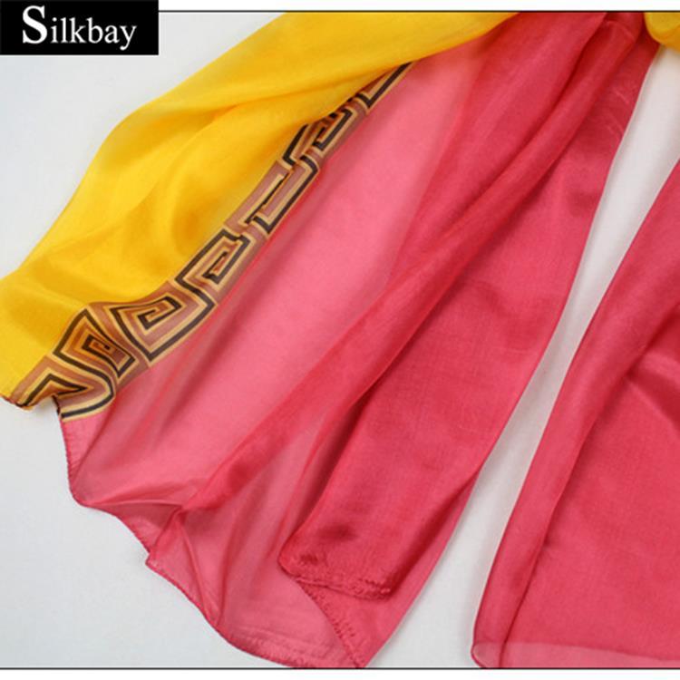 Hot selling cheap long scarves chinese wholesaler silk scarf pashmina shawl nepal