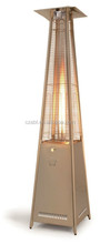 Square pyramid outdoor heater