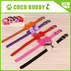 1.5 cm width small dog neck collar cute famale dog bow tie collar 6 colors on sale