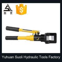 led illuminates battery powered resource electro hydraulic auto ribbon cable crimping tool usa manufactureing company