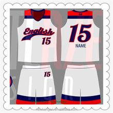 Excellent quality hot sale basketball uniform image