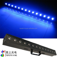 new product ,6 in1 rgbwa+UV indoor led bar light 14x12w stage night club decorate
