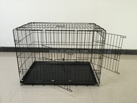Light stainless steel pet cage