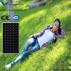 Good Quality in stock 300W mono solar panel price per watt solar panel