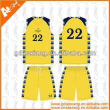 A-league quality Sublimation Newest Basketball jersey