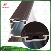 T shaped rubber magnetic strips for aluminum window and door