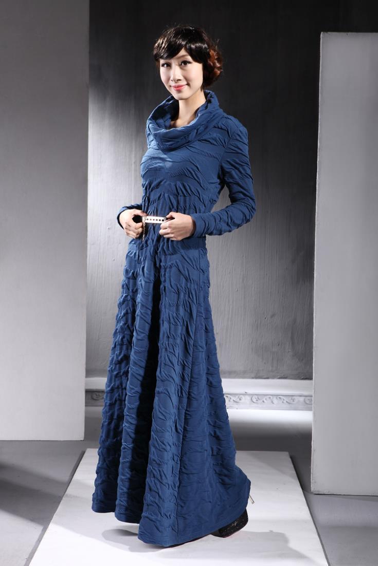 Купить Теплое Длинное Платье На Зиму