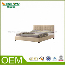 Alibaba 2014 indio cama de madera cama doble
