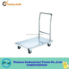 utility stainless steel hand trolley for transportation made in China alibaba China
