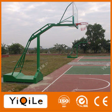 Movable Basketball Stand with fiberglass basketball backboard