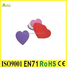 Heart Romantic Design eva foam shapes for Wall Window Door Decoration Wedding Decoration