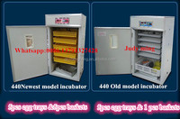 birds egg incubator for sale/egg incubator for 440pcs/poultry farm egg incubator