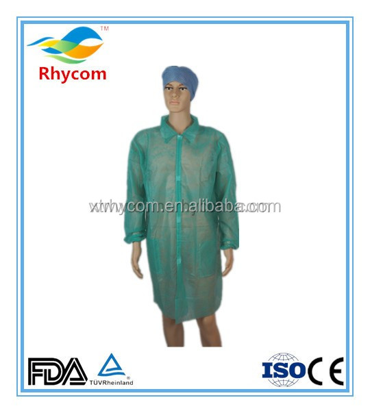 Disposable Medical Doctor Sterile Isolation Non Woven Surgical Gown ...