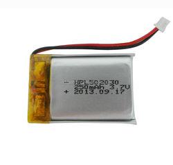 black box polymer lithium battery HPL502030 250mAh 3.7V