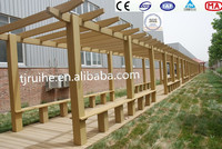 WPC outdoor series kinds of pergola