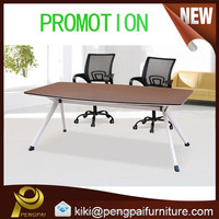 Innovative folding meeting room table design