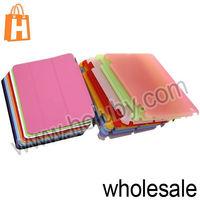 Special Design Collapsible Stand Flip Leather Cover Companion Case for iPad Mini/Retina iPad Mini (9 Colors Optional)