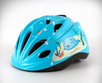 multi-color kids bike helmet