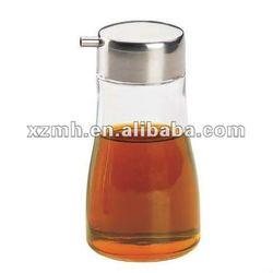 condiment glass bottle, glass cruet