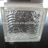 sea wave glass blocks