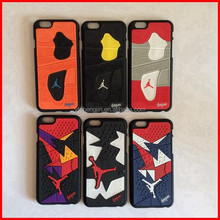 different version Jordan cell phone cases/3d rubber silicone phone cases
