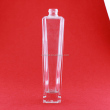 Handmade unique shaped glass bottle wholesale cognac drinks bottle clear liquor bottles alcoholic drinks exporting