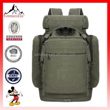 Fashion Backpack Mens Canvas Travel Backpack Rucksack Outdoor Hiking Bags