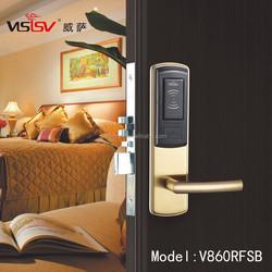 Hot-slaes hotel door lock with handle