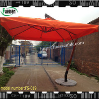 Umbrella Type and Outdoor Furniture General Use large scale patio wooden umbrellas FS-019