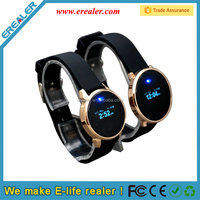 New type calorie burned count pedometer watch with wristband