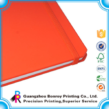 Hot sale fashion top-level leather book cover for school