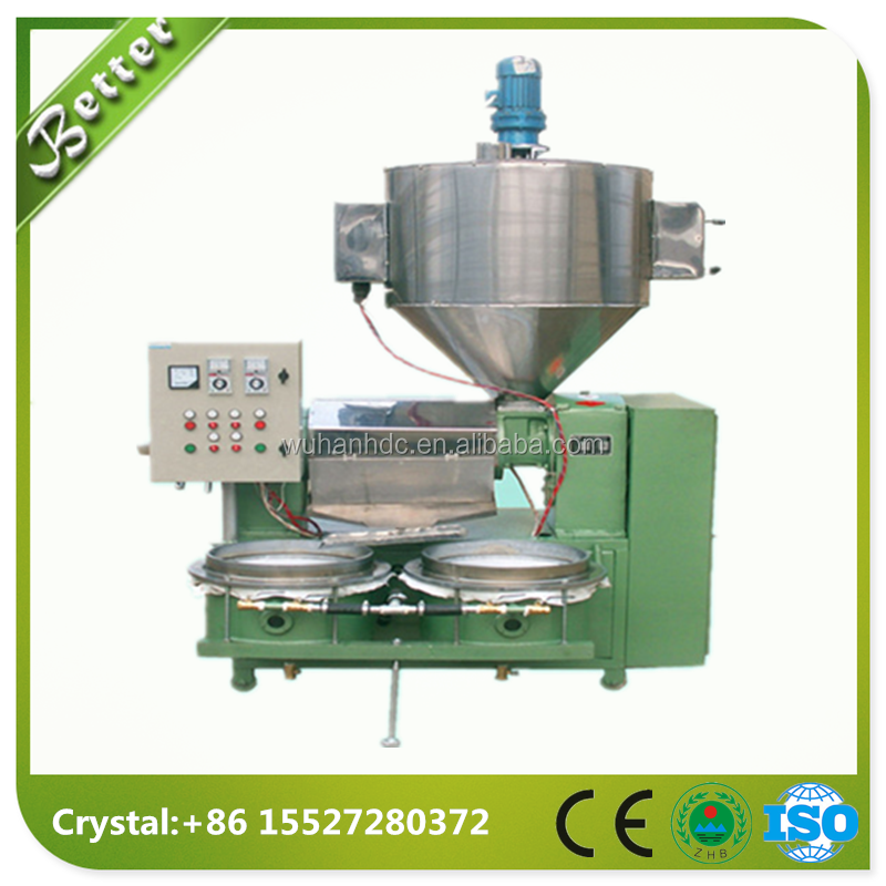 Small Oil Expeller Oil Press Machine Peanut Oil Mill