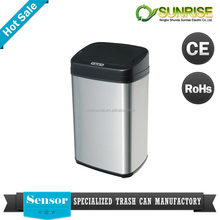 recycle bins with sensor lid stainless steel bins manufacturers supermarket sell dustbin