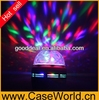 New product Sound Activated 3W RGB Colorful Rotating Lamp LED Crystal Ball DJ stage Lighting
