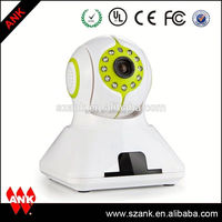 2015 New Design Wifi CCTV Camera With Micro SD Card Wifi Clock Analog CMOS IP Camera Module