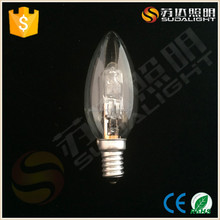 CE,ROHS Certification and C35 Specification energy saving halogen bulbs