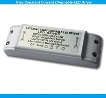 CE SAA RoHS approved constant current triac dimmable led driver 18w noise free flicker free