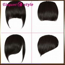 human clip in hair bangs/human hair fringe/clip natural hair bangs, quality safe hair bang closure