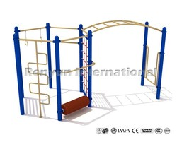kids exercise equipment with monkey bar outdoor playground